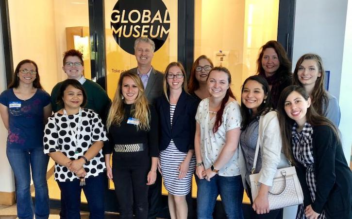 Global Museum students